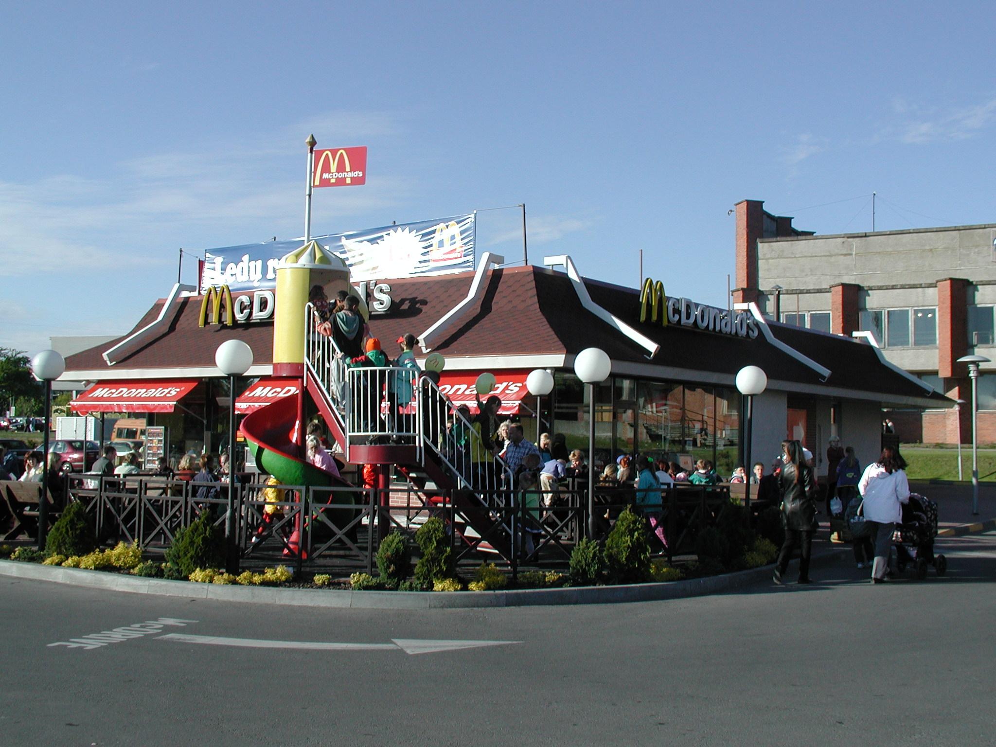Mc'Donalds restoranas Klaipėdoje