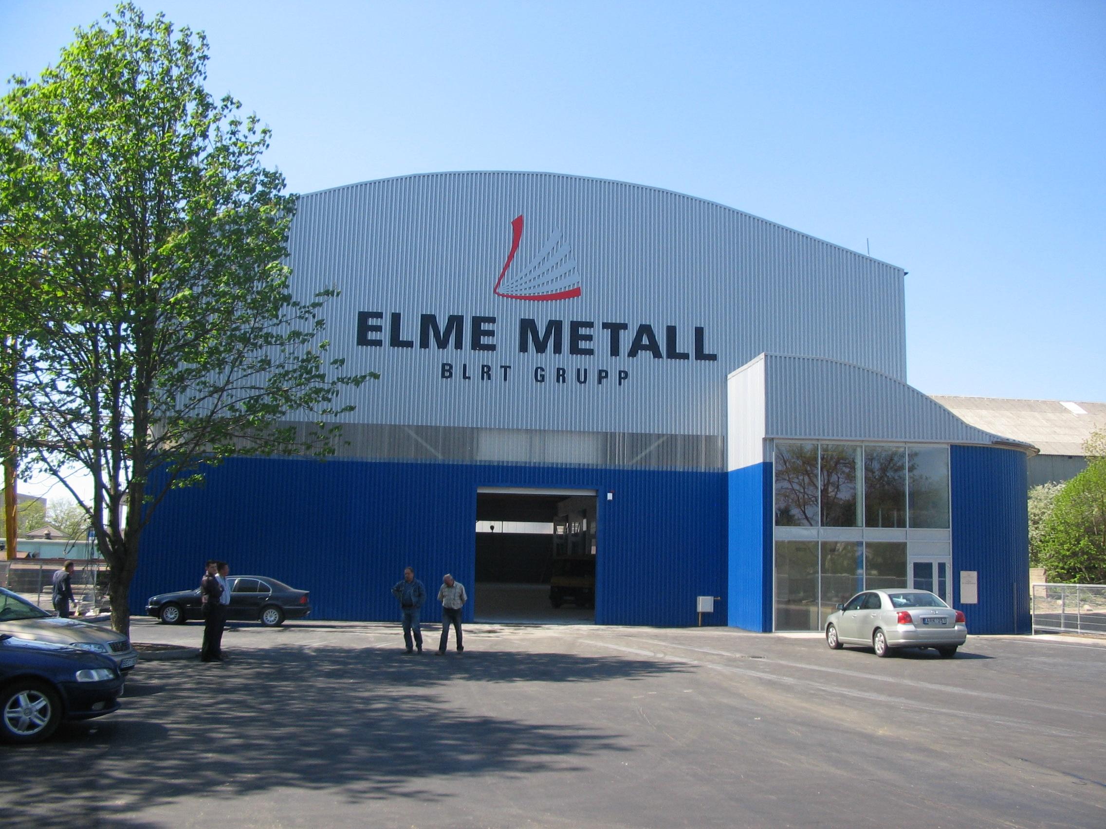 Metalo sandėlis Šiauliuose